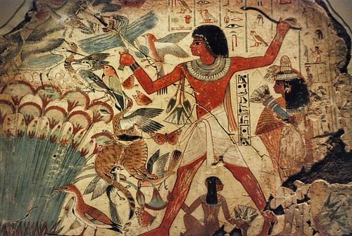 الصيد المصري في الاهوار