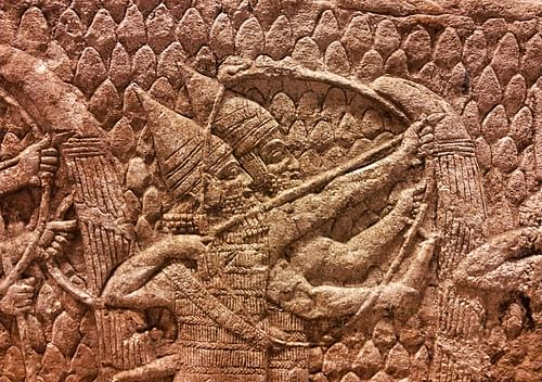 Assyrian Archers (by Jan van der Crabben)
