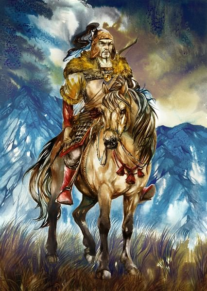 Attila the Hun [Artist's Impression]
