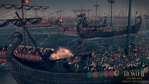 Ancient Sea Battle