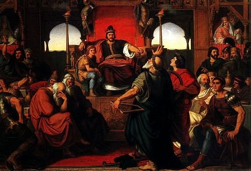 what does priscus tell readers about attilas diet?