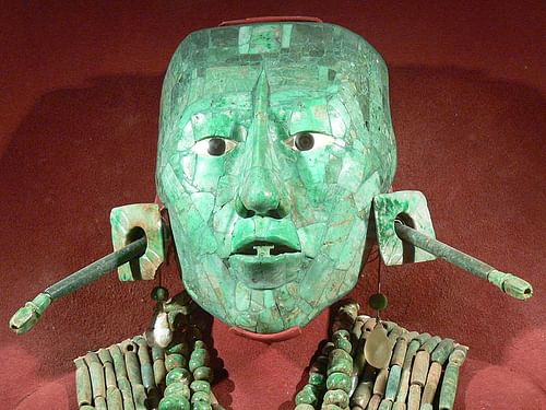 Jade Death Mask of Kinich Janaab Pacal (by Wolfgang Sauber)