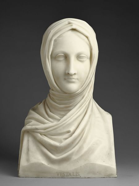 Vestal Virgin by Canova (by Antonio Canova)