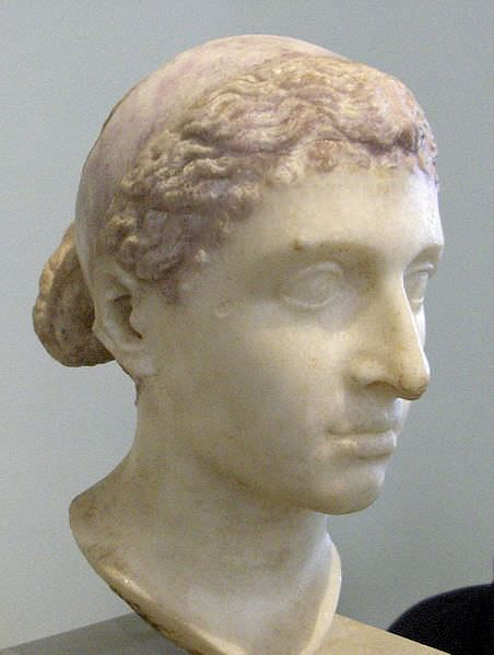 Bust of Cleopatra (by Louis le Grand, Public Domain)