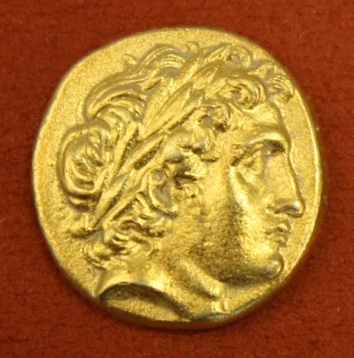 Apollo, Macedonian Gold Stater (by Mark Cartwright, CC BY-NC-SA)