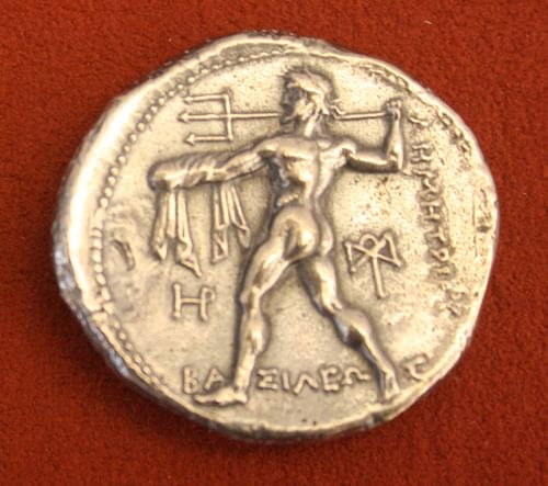 Poseidon, Silver Tetradrachm of Macedon (by )