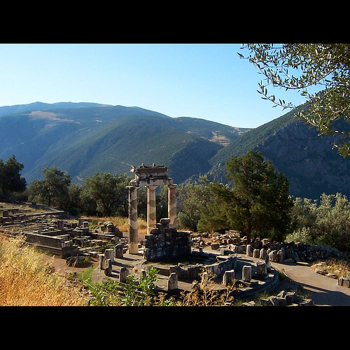Sanctuary of Apollo in Delphi