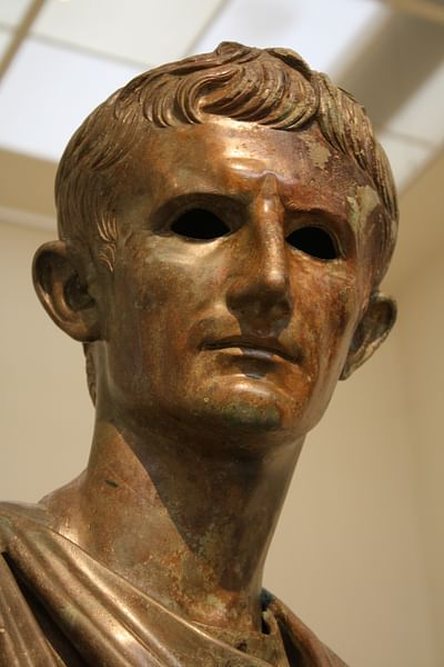 Augustus, Bronze Head from Euboea