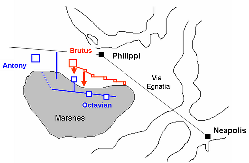 2nd Battle of Philippi 42 BCE