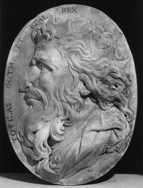 Totila, King of the Ostrogoths (by The Walters Art Museum)