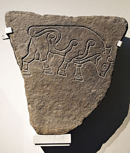 Pictish Burghead Bull (by British Museum, Copyright)
