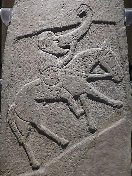 Pictish Warrior with Drinking Horn