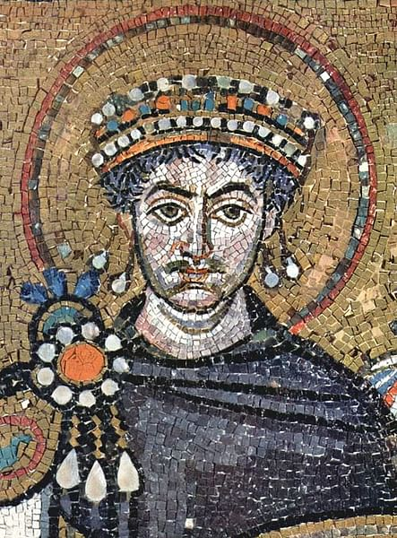 Justinian I (by Sponsored by a Greek banker, Julius Argentarius)