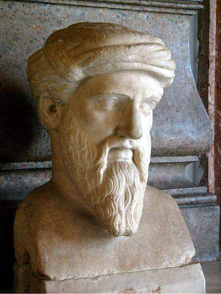 Bust of Pythagoras (by Skies, CC BY-SA)