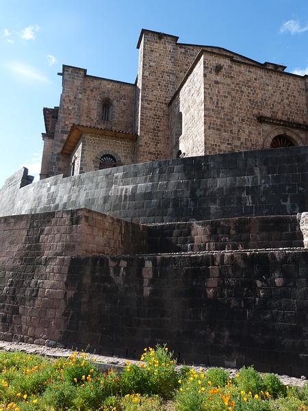 Coricancha Curved Wall