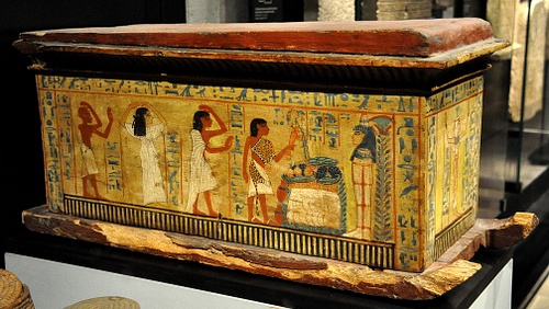 Egyptian Child's Coffin