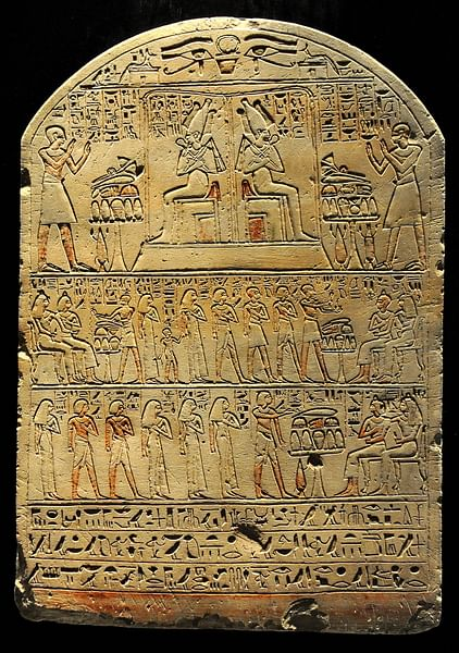 Stela of Roy and Kashisha