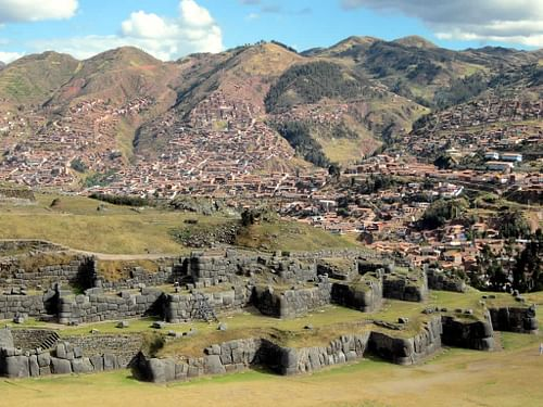 Sacsayhuaman Fortifications (by David Stanley, CC BY)