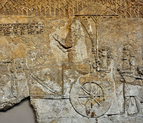 King Sennacherib (by Osama Shukir Muhammed Amin, CC BY-NC-SA)