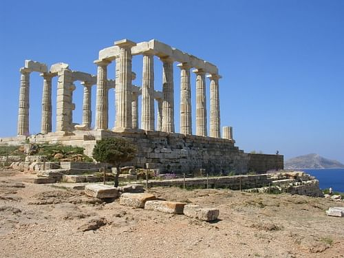 Temple of Poseidon, Sounion, Greece (by )
