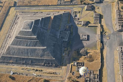 Pyramid of the Sun, Teotihuacan (by Alejandro Ocaña)