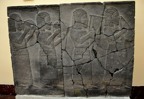 Hittite Relief of Musicians