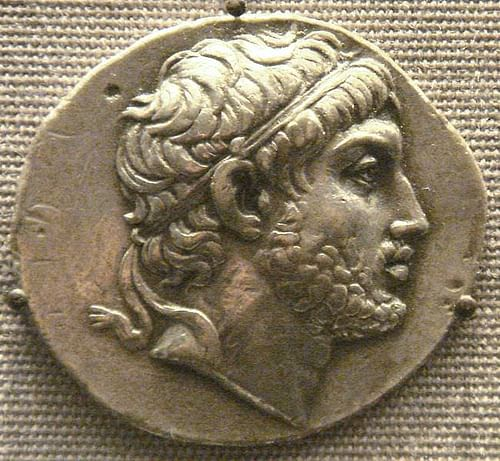 Coin of Philip V of Macedon