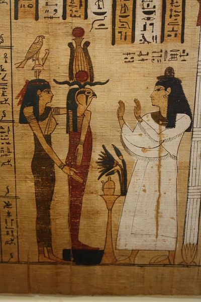 Book of the Dead of Tayesnakht, Thebes