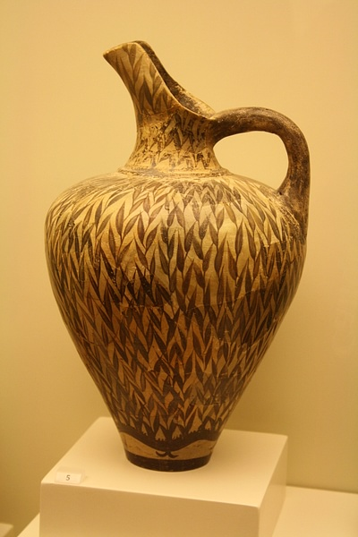 Minoan Jug in Floral Style