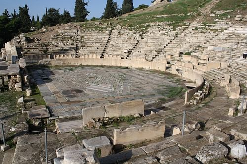 Theatre of Dionysos Eleuthereus, Athens (by Mark Cartwright, CC BY-NC-SA)