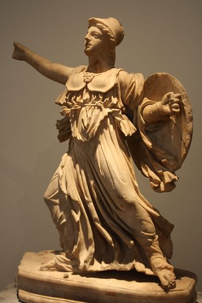 Athena (after the East pediment of the Parthenon)