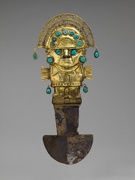 Lambayeque Ceremonial Knife (by Metropolitan Museum of Art, Copyright)