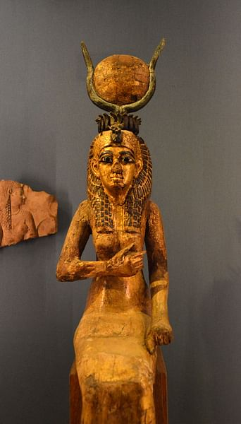 The Goddess Isis
