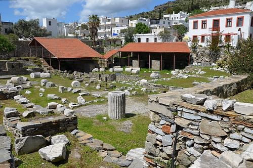 The Ruins of the Mausoleum at Halicarnassus