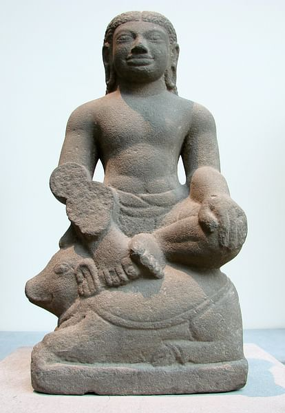 Agni Seated on a Ram