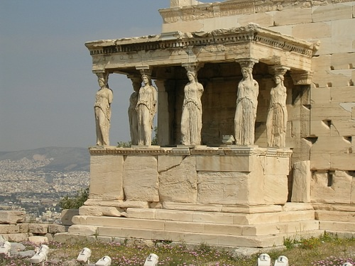 The Erechtheion, Athens