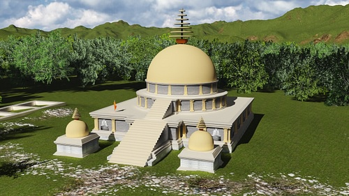 Digital Reconstruction of Badalpur Monastery, Taxila (by )