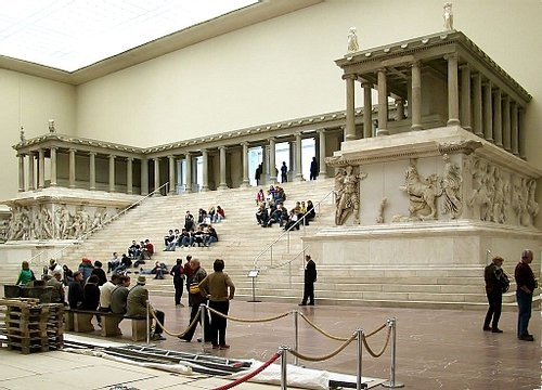 Reconstruction of the Pergamon Altar