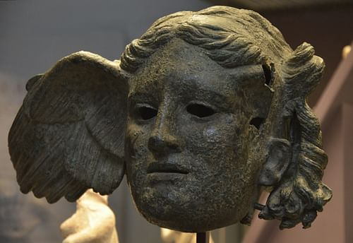 Bronze head of Hypnos (by Carole Raddato, CC BY-SA)