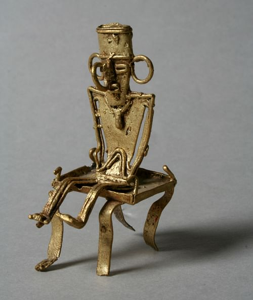 Muisca Gold Figure (by Metropolitan Museum of Art)