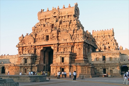 Monumental Gateway, Brihadishvara Temple, Thanjavur