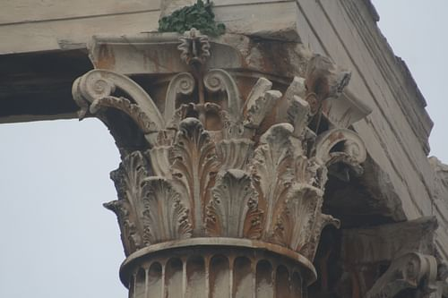 Corinthian Capital, Temple of Zeus, Athens