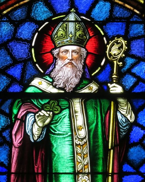 Saint Patrick (by Nheyob, CC BY-SA)