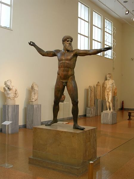 Zeus or Poseidon from Cape Artemisium