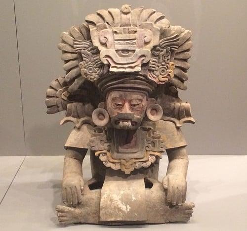 Zapotec Priest Figure