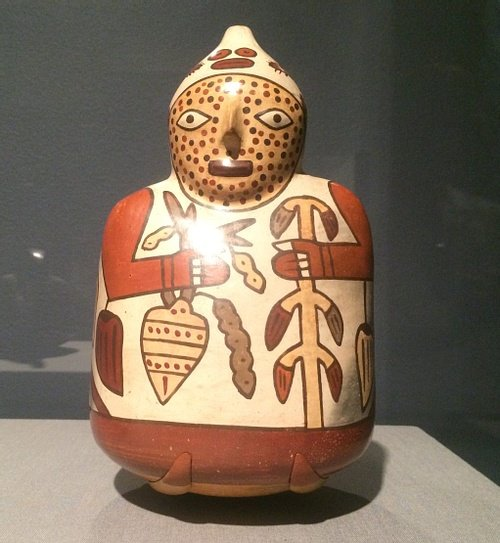 Nazca Figure Vessel