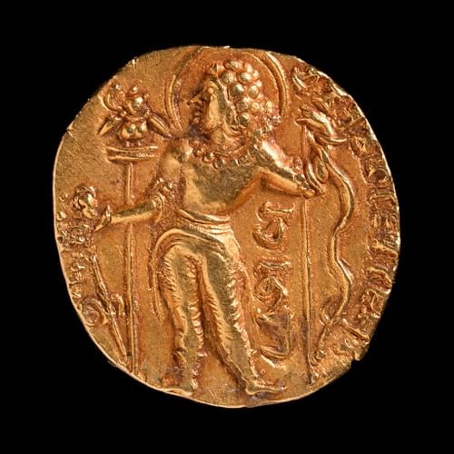 Gold Coin of Chandragupta II