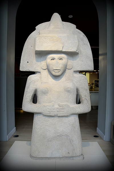 Huastecs' Mother Goddess from Mexico (Illustration ...