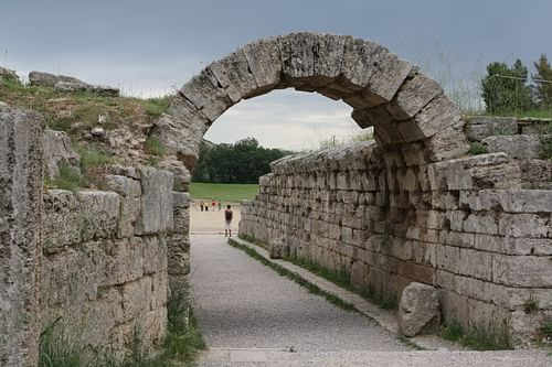 Stadium Entrance, Olympia (by Mark Cartwright, CC BY-NC-SA)