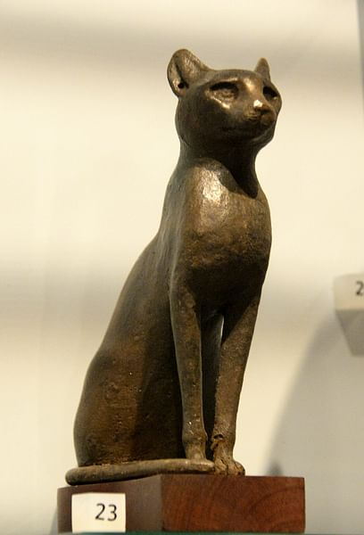 Bronze Cat from Egypt